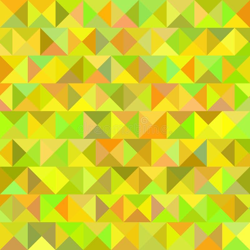 Geometrische Kleurrijke Samenvatting Als achtergrond Vector royalty-vrije illustratie