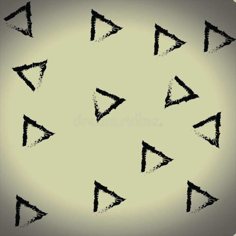 Geometrische Motive im Stil der Kunst lizenzfreie stockfotos