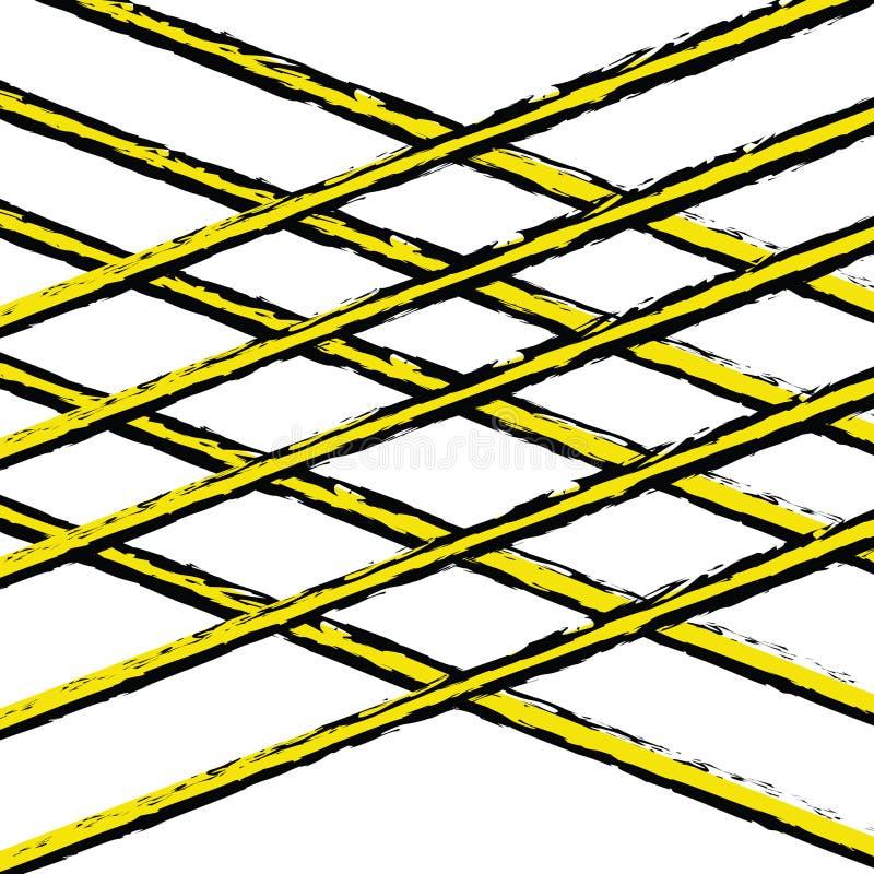 Geometrische Motive im Stil der Kunst lizenzfreie stockbilder