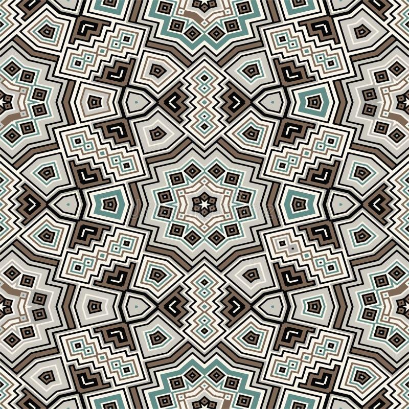 Geometrische naadloze textuur royalty-vrije illustratie