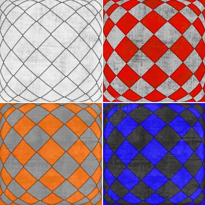 Geometrische Schmutzhintergründe lizenzfreie abbildung