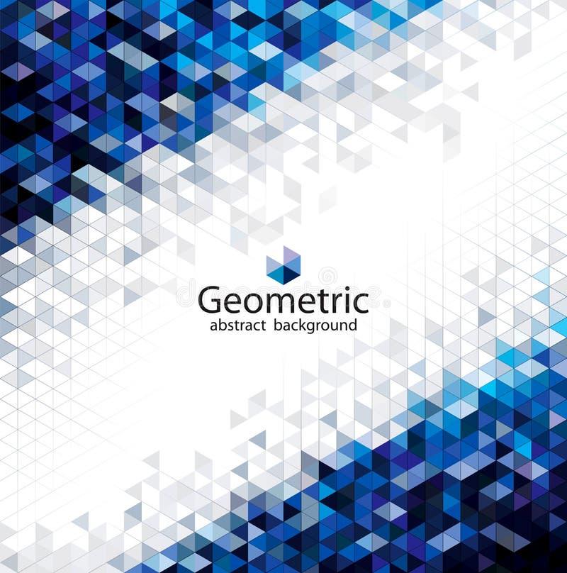 Geometrische städtische abstrakte Hintergründe lizenzfreie abbildung