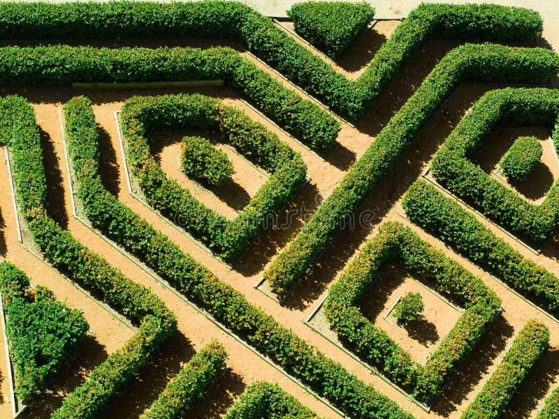 Geometrische tuin royalty-vrije stock afbeeldingen