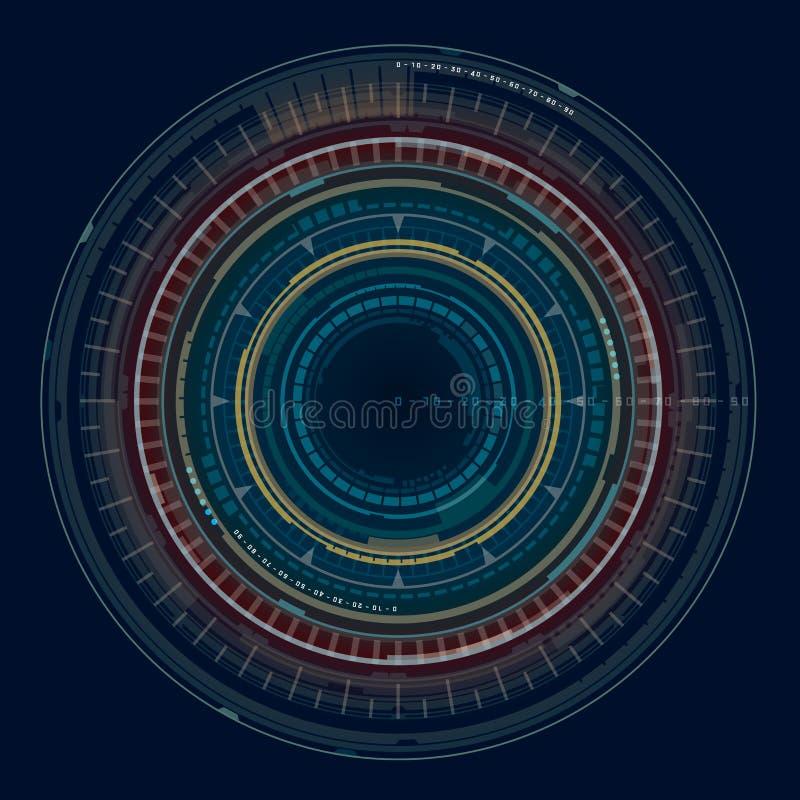 Geometrische Vorm 4 royalty-vrije stock afbeelding