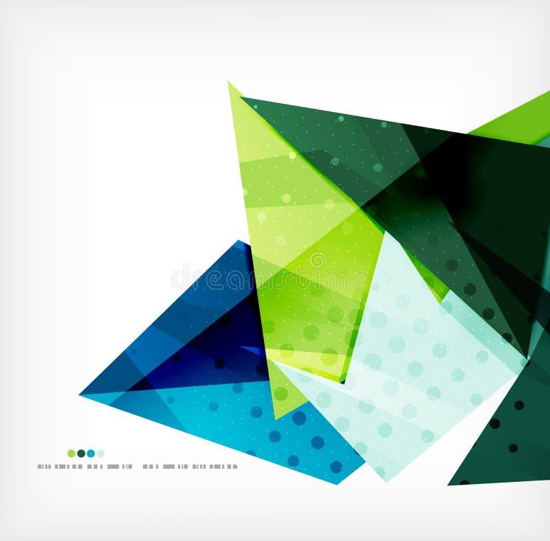 Geometrische vorm abstracte futuristische achtergrond vector illustratie