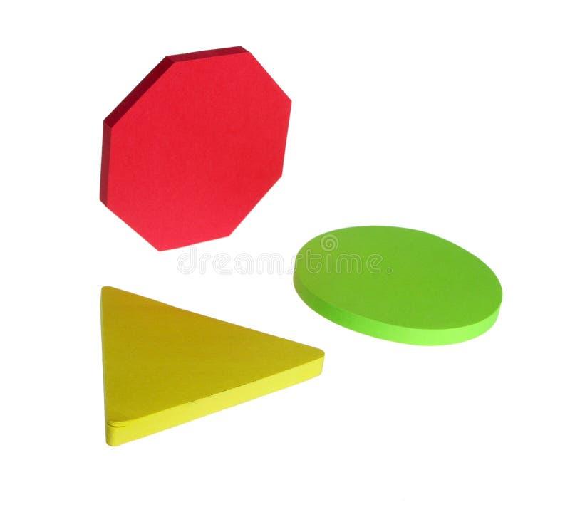 Download Geometrische Vormen 2 stock foto. Afbeelding bestaande uit groen - 292630