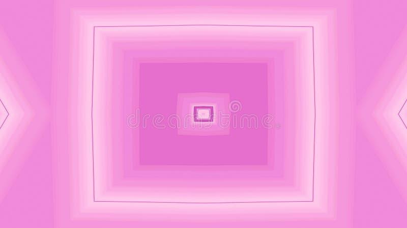Geometrische vormen en lijnen Abstracte vierkante geometrische achtergrond stock illustratie