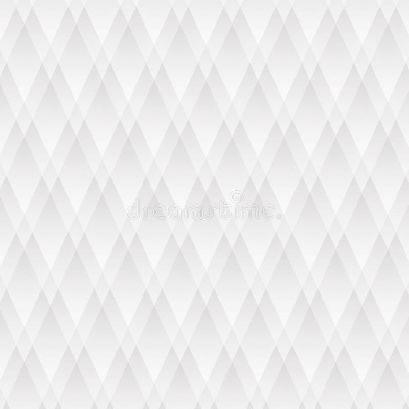 Geometrische witte textuurdiamanten royalty-vrije stock fotografie