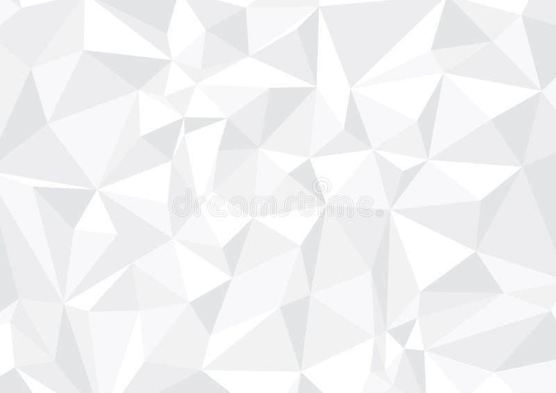 Geometrische zwart-witte achtergrond royalty-vrije stock foto