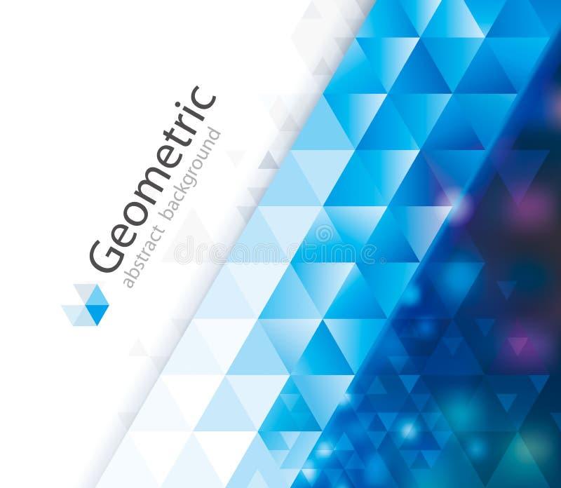 Geometrischer abstrakter Hintergrund vektor abbildung