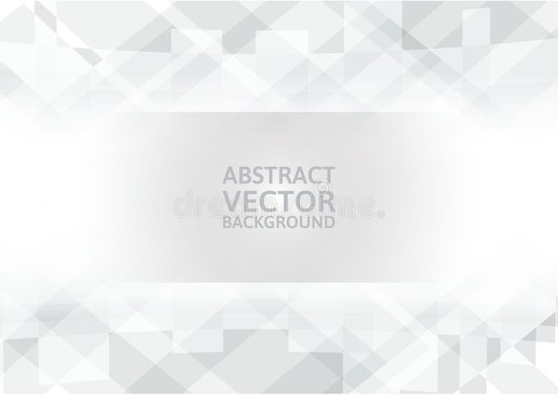 Geometrischer abstrakter Hintergrund des Vektors mit Kopieraum stock abbildung