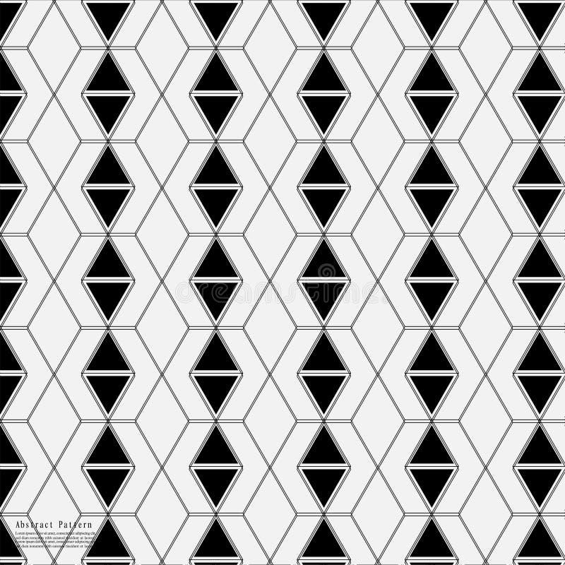 Geometrischer abstrakter Hintergrund mit verbundener Linie und Dots Patterns lizenzfreie abbildung