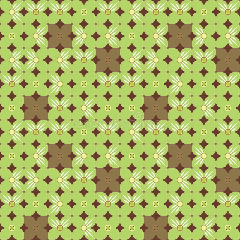 Geometrischer Blumenhintergrund vektor abbildung