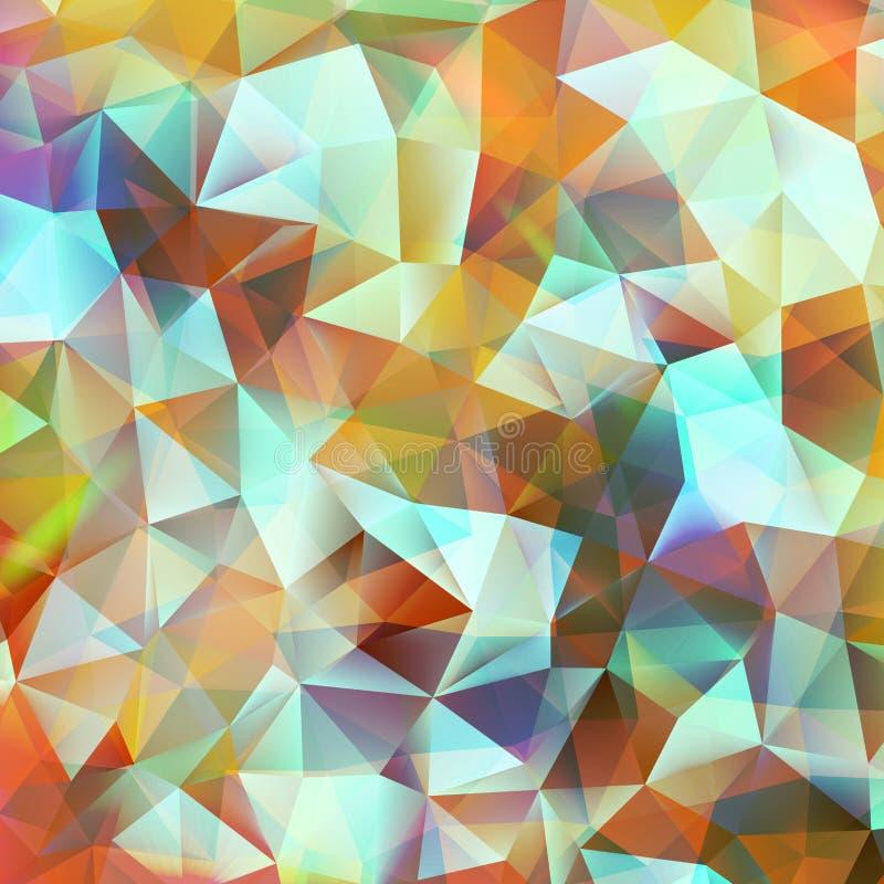 Geometrischer Farbhintergrund. ENV 10 vektor abbildung