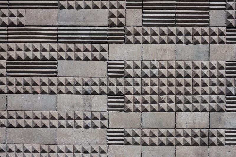 Geometrischer Fliesenbeschaffenheitshintergrund stockbilder