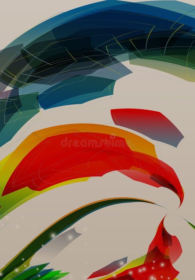Geometrischer Hintergrund der Brosch?renabdeckungsdarstellungs-Zusammenfassung vektor abbildung