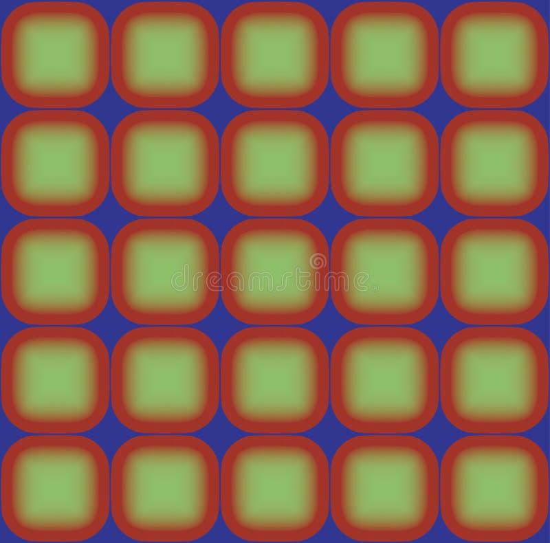 Geometrischer Hintergrund der Vektorzeichnungs-Platte stock abbildung