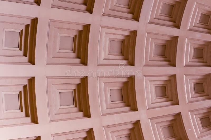 Geometrischer Hintergrund mit schräg gelegenen Linien und Quadraten stockbilder