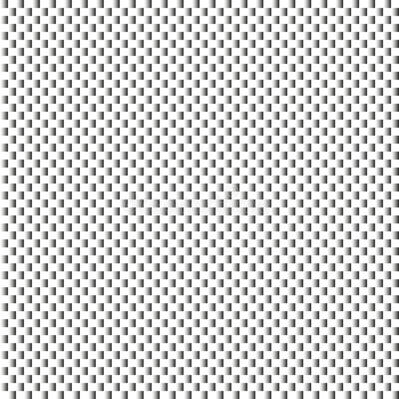 Geometrischer moderner strukturierter Schwarzweiss-Hintergrund stock abbildung