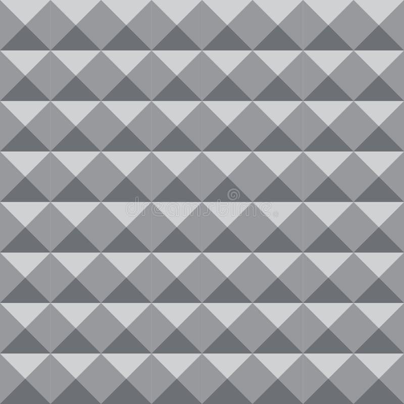 Geometrischer Musterhintergrund mit grauer Farbe zu den Design- oder Hintergrundzwecken lizenzfreie abbildung