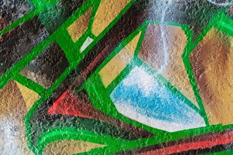 Geometrisches abstraktes Malereimuster vektor abbildung
