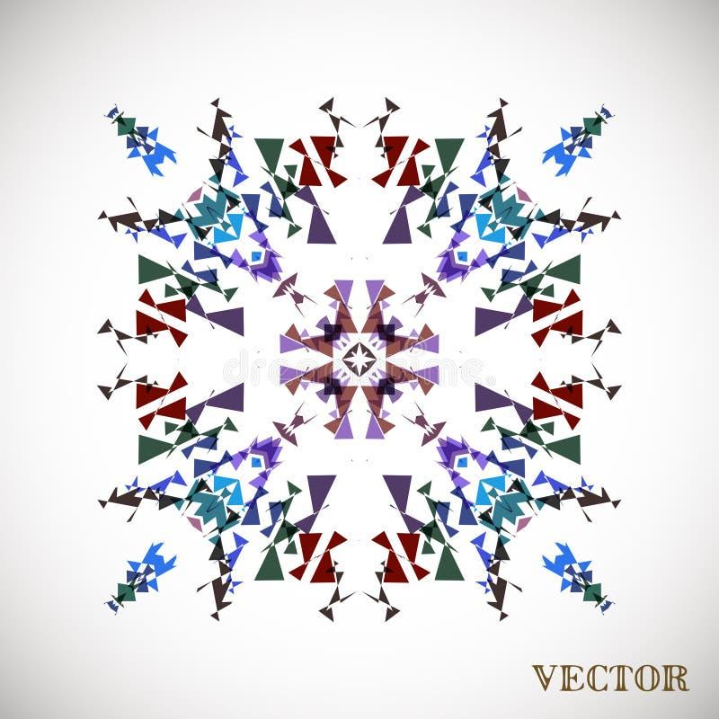 Geometrisches arabisches Muster lizenzfreie stockbilder