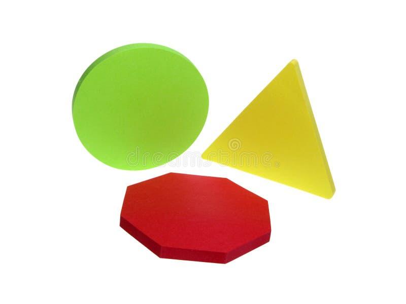 Geometrisches getrennt stockbild
