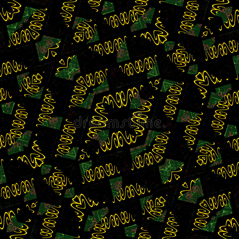 Geometrisches modernes abstraktes dekoratives Muster vektor abbildung