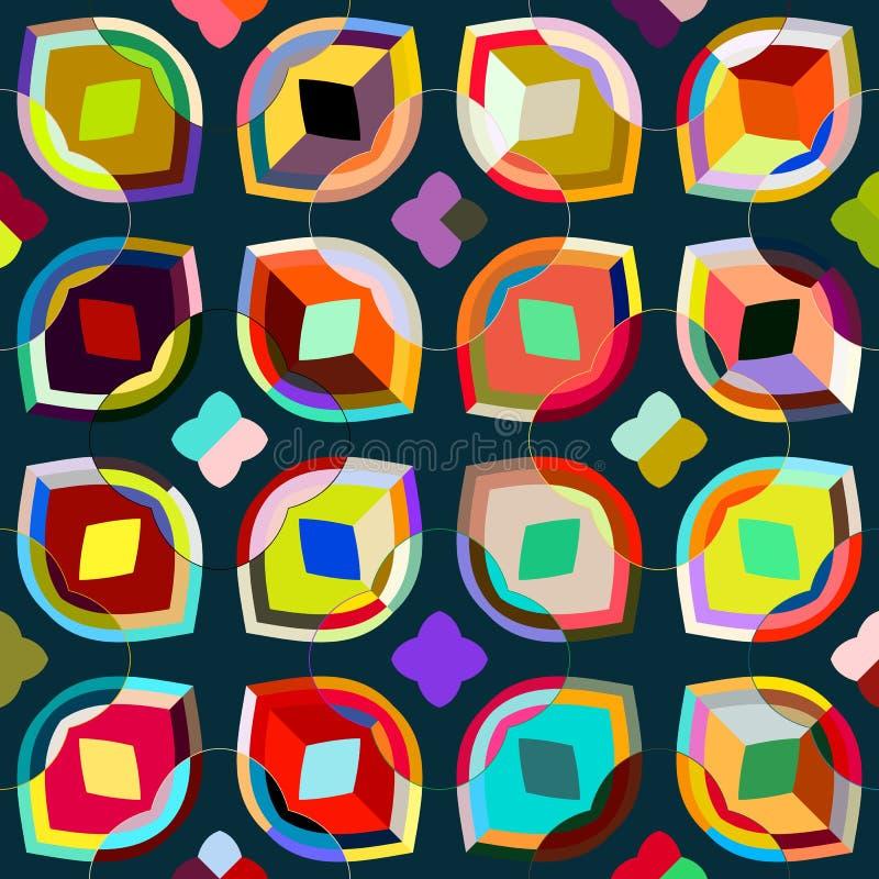 Geometrisches Muster lizenzfreie abbildung