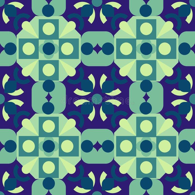 Download Geometrisches Muster vektor abbildung. Illustration von regelmäßig - 90235912