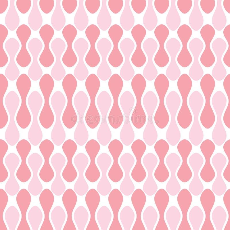 Geometrisches Muster der nahtlosen Bohnen vektor abbildung