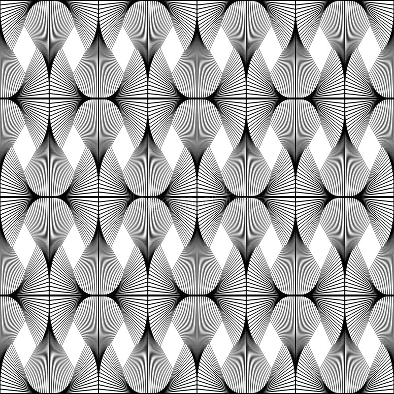 Geometrisches Muster des nahtlosen Diamanten des Designs lizenzfreie abbildung