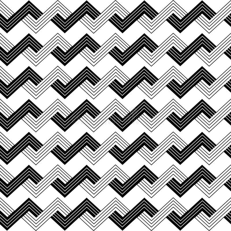Geometrisches Muster nahtlos vektor abbildung