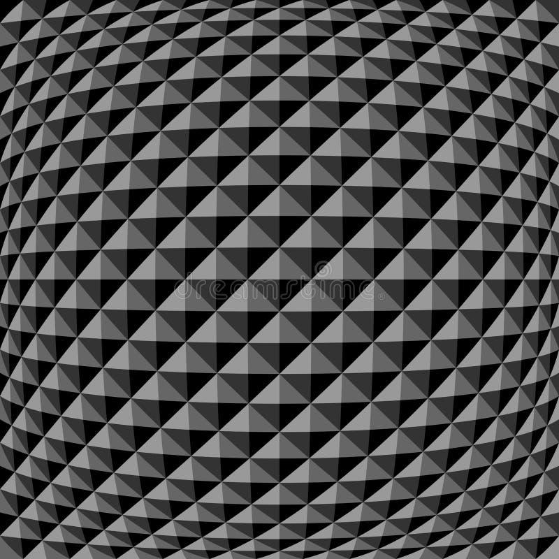 Geometrisches Muster Strukturierter Hintergrund stock abbildung