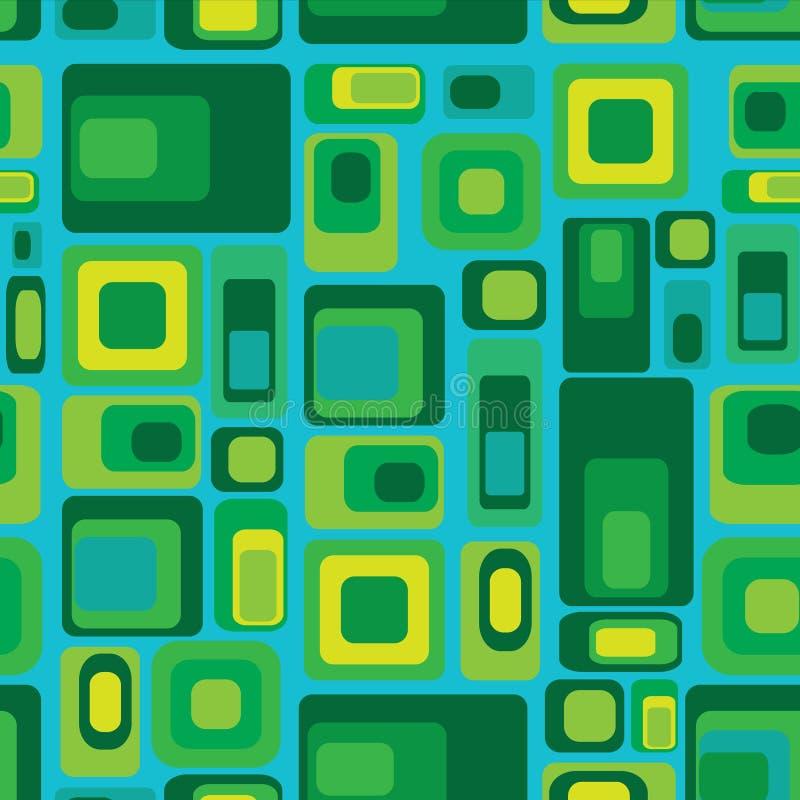 Geometrisches nahtloses Muster stock abbildung