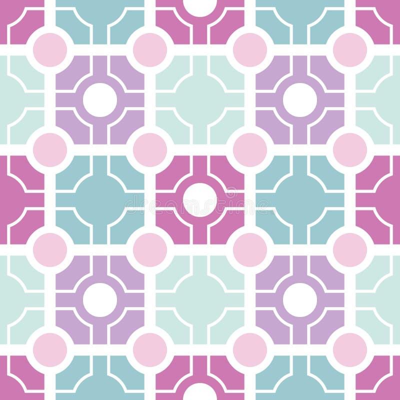 Geometrisches nahtloses Muster vektor abbildung