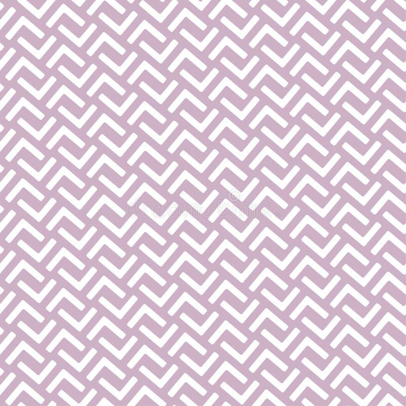 Geometrisches nahtloses Muster in der asiatischen Ostart Ärgern Sie che, Gitter, Puzzlespiel, Labyrinthart stock abbildung
