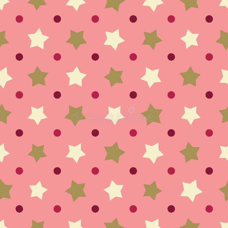 geometrisches nahtloses Muster lizenzfreie abbildung
