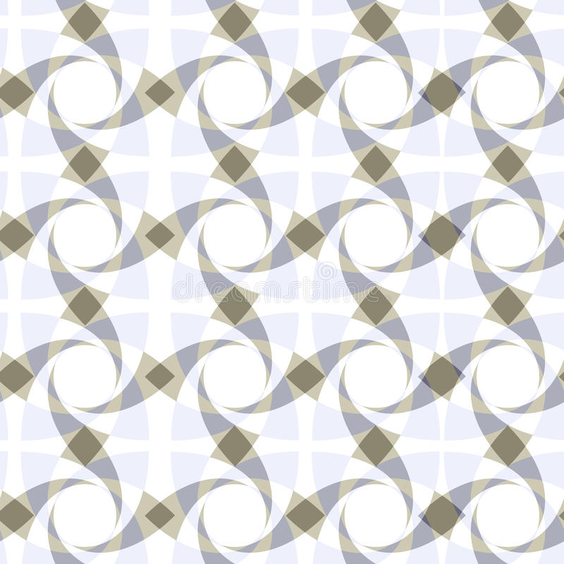 geometrisches nahtloses transparentes Muster vektor abbildung
