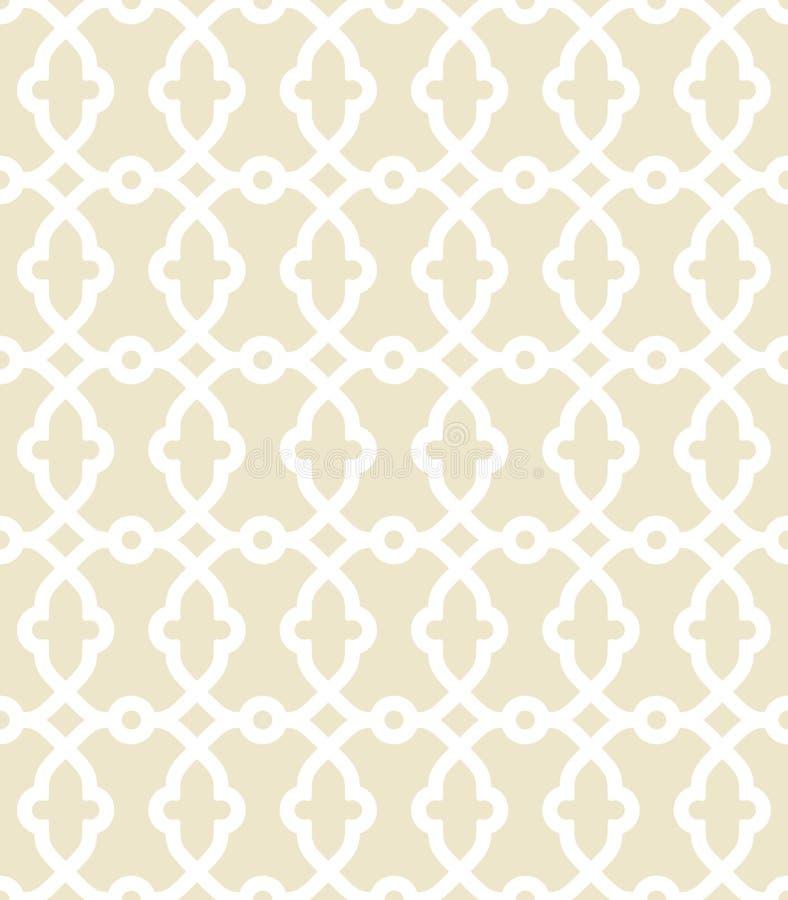 Geometrisches nahtloses Vektor-Pastell-Muster lizenzfreie abbildung