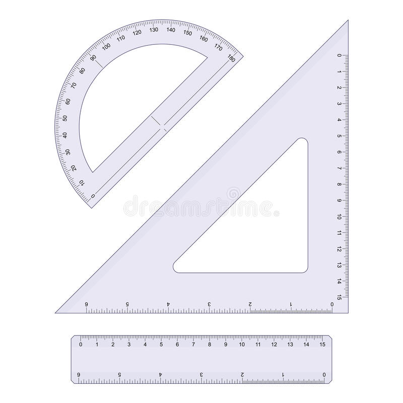 geometriset royaltyfri illustrationer