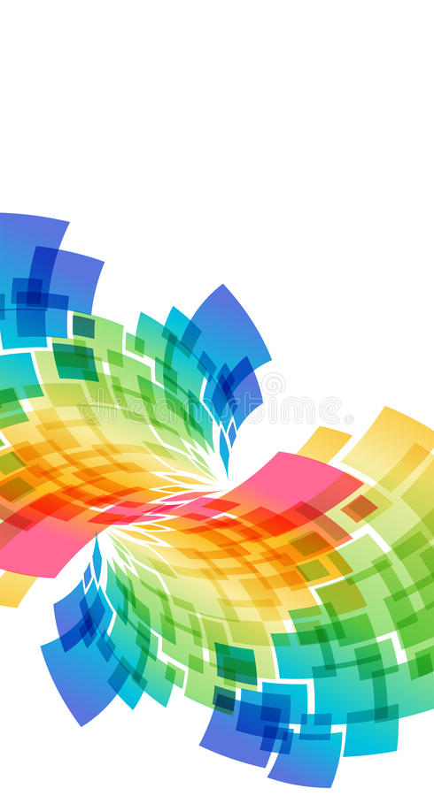 geometrisk abstrakt bakgrund stock illustrationer