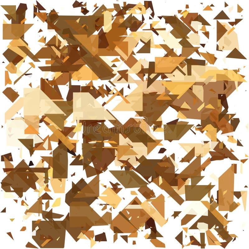 geometrisk abstrakt bakgrund Detonera bakgrund Vektorillustration EPS10 vektor illustrationer