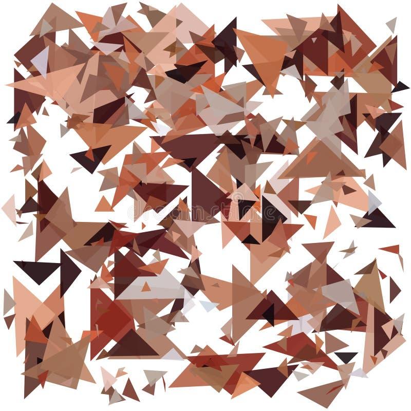 geometrisk abstrakt bakgrund Detonera bakgrund Vektorillustration EPS10 stock illustrationer
