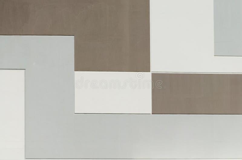 geometrisk abstrakt bakgrund, rektangulär form royaltyfria foton