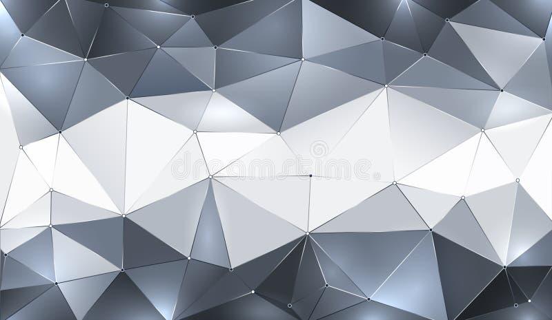 geometrisk bakgrund royaltyfri illustrationer