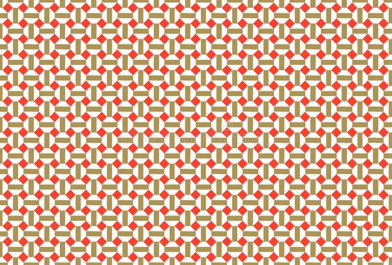 geometrisk bakgrund stock illustrationer