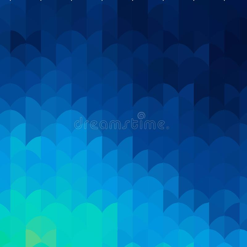 geometrisk bakgrund Abstrakt vektormall f?r presentation 10 eps vektor illustrationer