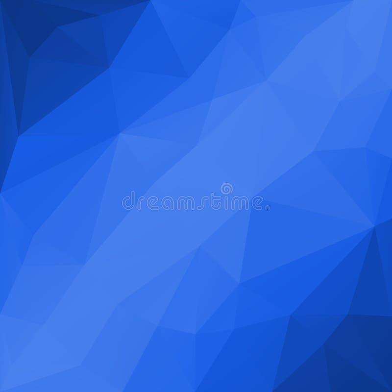Geometrisk bakgrund för abstrakt triangel vektor illustrationer