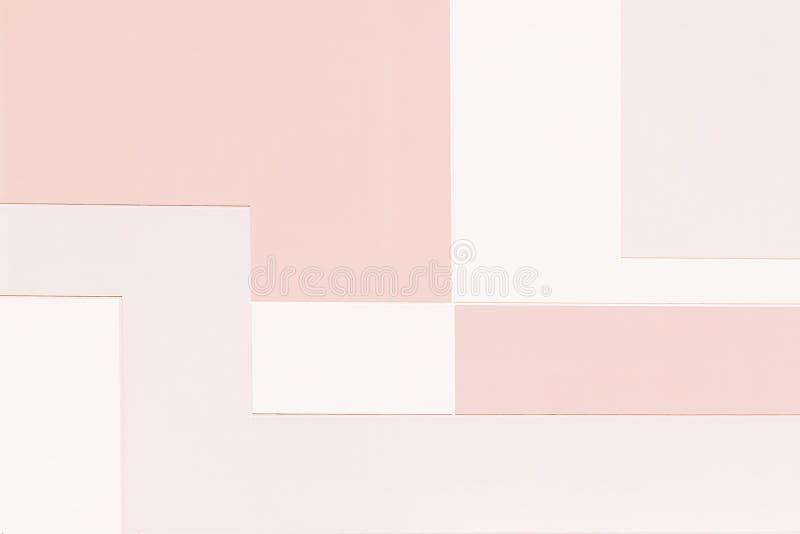 Geometrisk bakgrund för färgrik målarfärg - tonad effekt royaltyfri fotografi